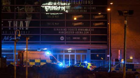 مانشستر أرينا بعد الهجوم الانتحاري