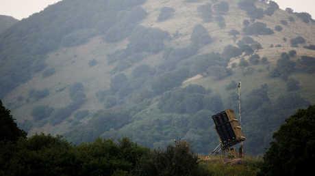 منظومة غسرائيلية للدفاع الجوي في هضبة الجولان المحتلة