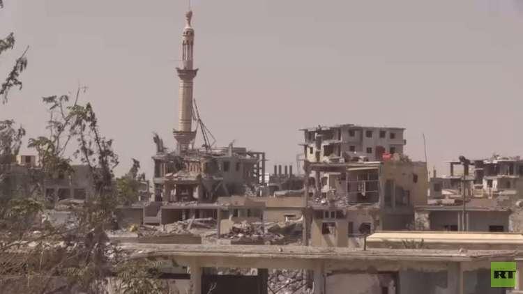 ألغام داعش تواصل قتل أهالي الرقة