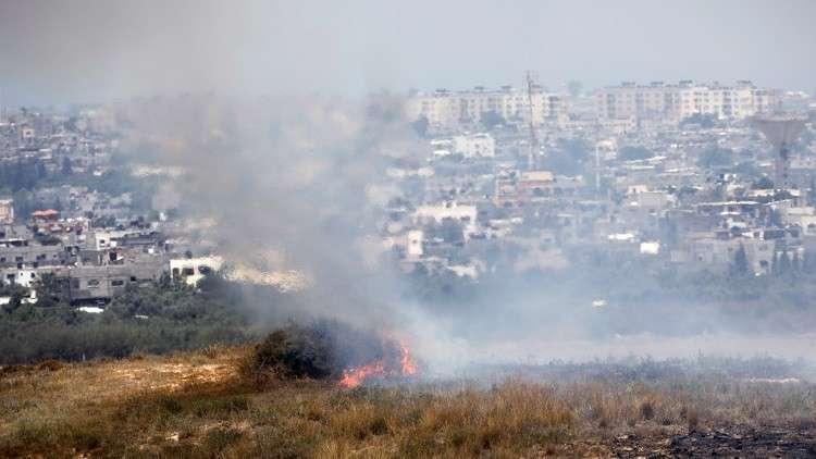إسرائيل توقف توريدات الوقود إلى غزة بسبب البالونات الحارقة