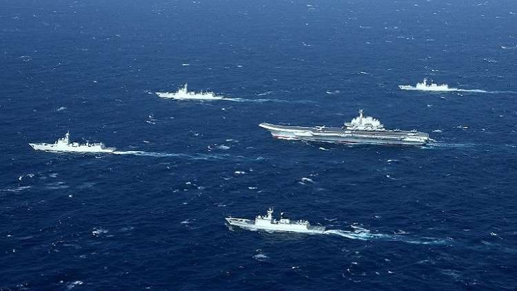 أول تدريبات بحرية بين الصين ودول جنوب شرق آسيا