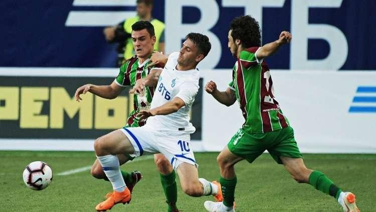 تعادل دينامو موسكو مع روبين قازان في افتتاح المرحلة الثانية من الدوري الروسي