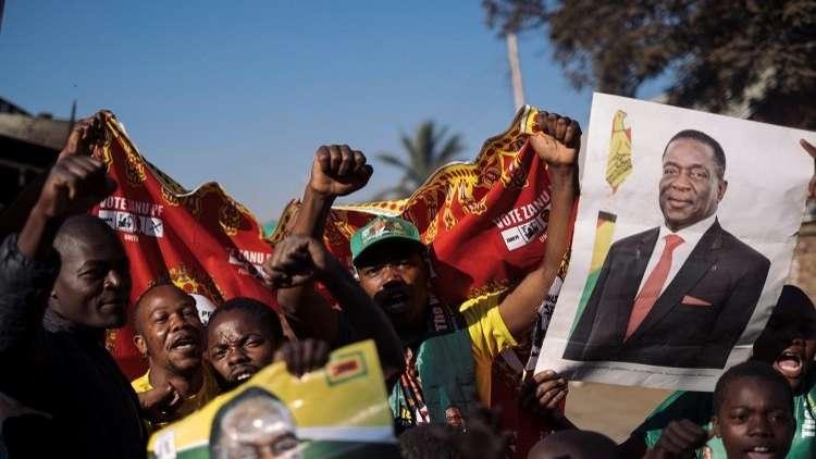 واشنطن تندد بالعنف في زيمبابوي