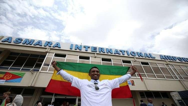أول رحلة طيران من أسمرة إلى أديس أبابا