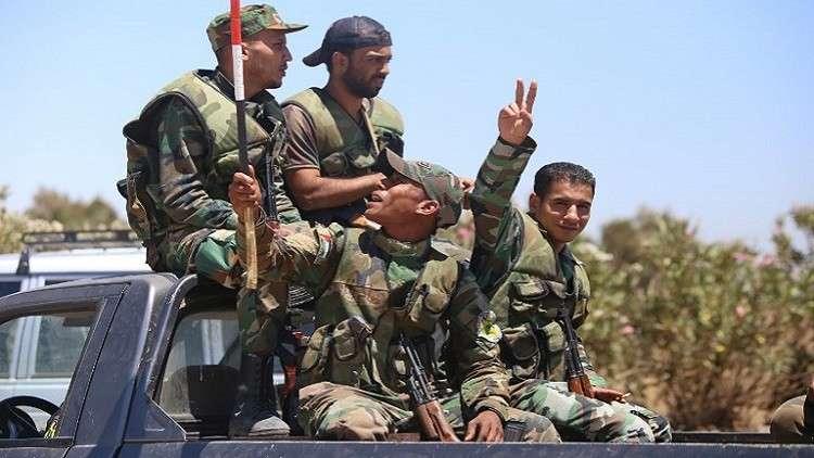 الجيش السوري يقصف مواقع لـ