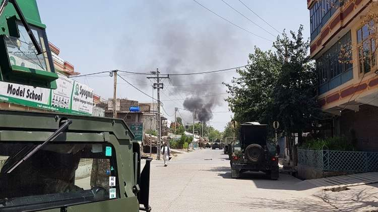 مقتل 8 مدنيين بانفجار لغم جنوبي أفغانستان