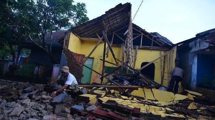 زلزال جديد يهز لومبوك الإندونيسية