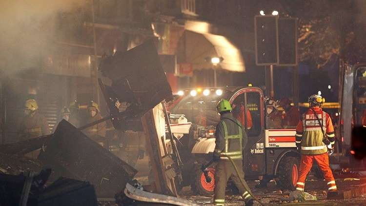 قتيل وجريح في انفجار بمصنع عسكري بمدينة سالزبوري البريطانية