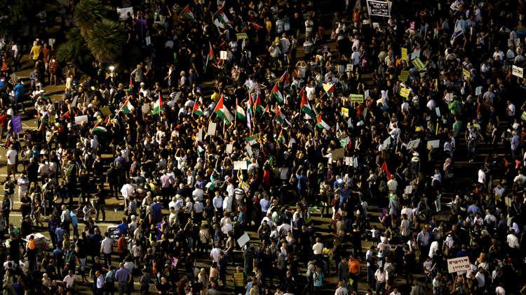 نتنياهو: المسيرات المناهضة لقانون القومية تهديد وجودي لإسرائيل