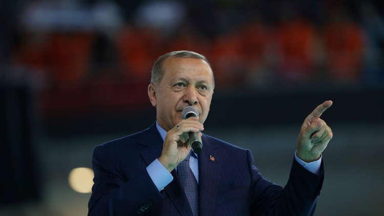أردوغان: نعتزم تحرير مناطق جديدة في سوريا وبسط الأمن فيها قريبا