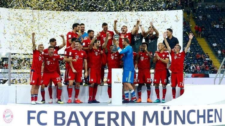 فيديو.. بايرن ميونيخ بطلا لكأس السوبر الألماني