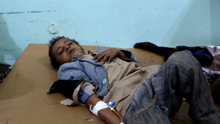 الحوثيون ينشرون فيديو لأطفال حافلة صعدة صور قبل استهدافهم!