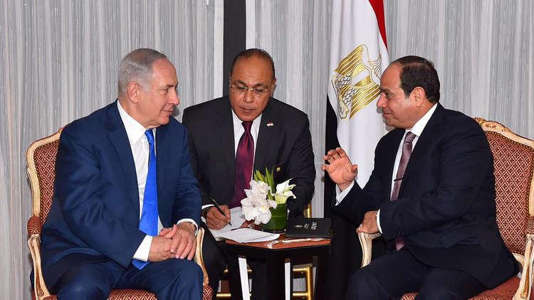 دبلوماسيون أمريكيون: السيسي عقد لقاء سريا مع نتنياهو في مصر