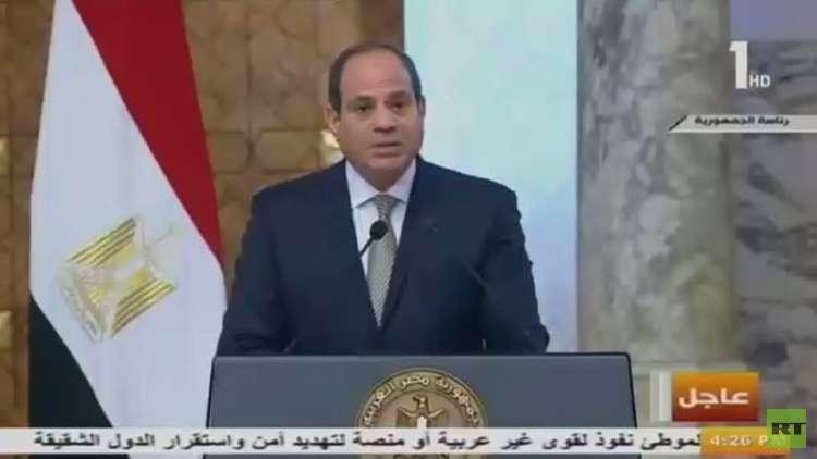 محادثات بين السيسي وهادي في القاهرة