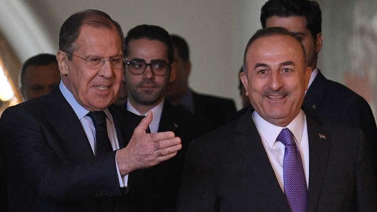لافروف إلى أنقرة للتحضير للقمة الرباعية حول سوريا المزمع عقدها في إسطنبول
