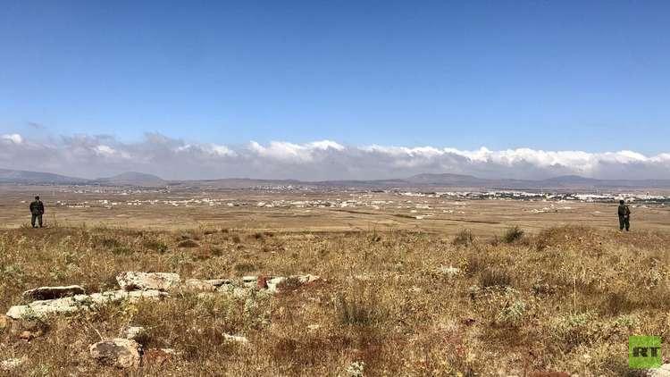 الشرطة العسكرية الروسية تقيم 4 نقاط عند حدود المنطقة منزوعة السلاح في الجولان