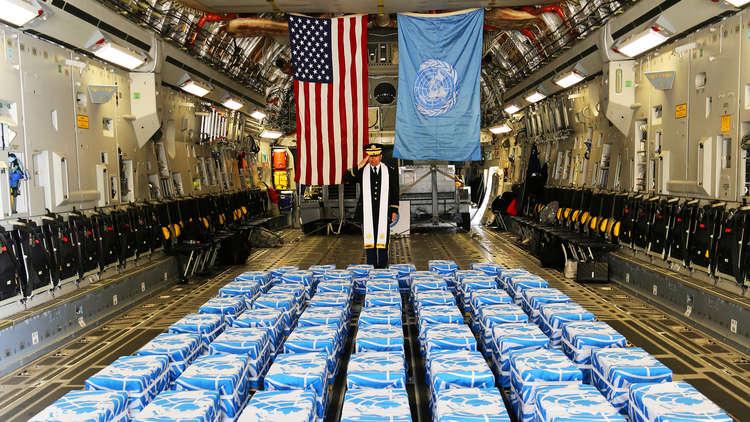 البنتاغون يتسلم 55 صندوقا تحوي رفات جنود أمريكيين قتلوا في الحرب الكورية