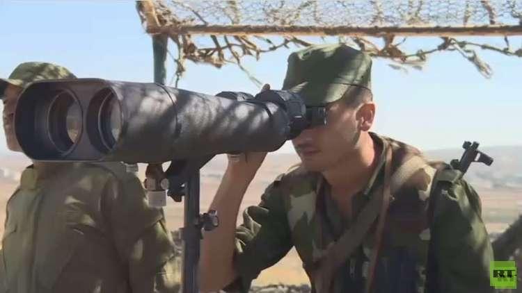 هدوء جبهة الجولان مع نشر قوات حفظ النظام