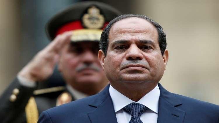الرئيس المصري يفتتح مشروعا ضخما