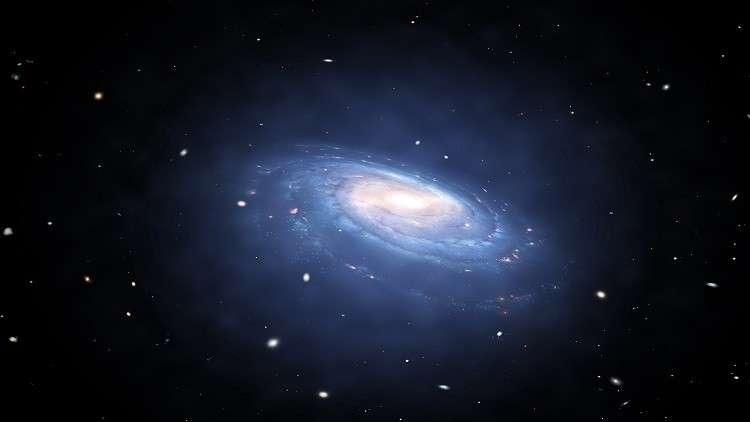 مجرة صغيرة غريبة تدور حول درب التبانة وتحير العلماء