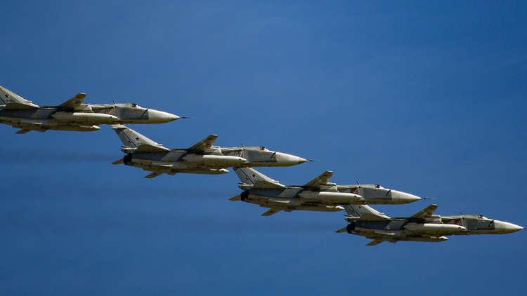الدفاع الروسية تنفي اعتراض القوات البريطانية  لـ 6 من قاذفاتها فوق البحر الأسود