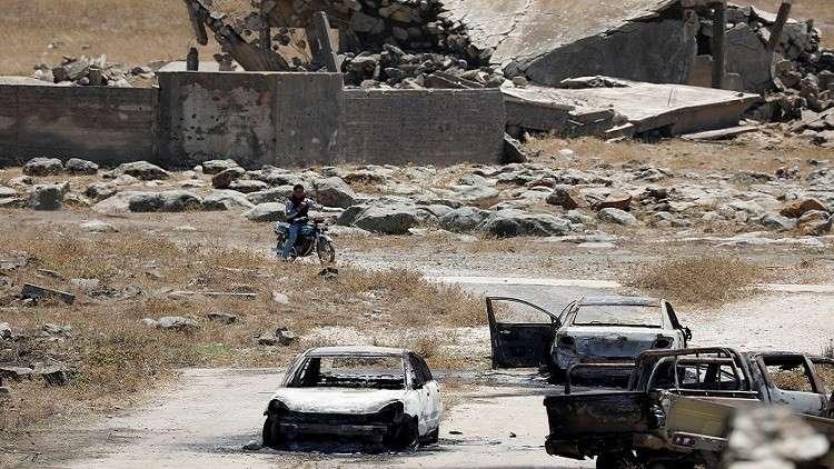 بومبيو ودي ميستورا: لا إعادة للإعمار في سوريا قبل التسوية