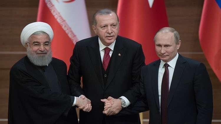 الكرملين يؤكد التحضير لقمة روسية تركية إيرانية حول سوريا