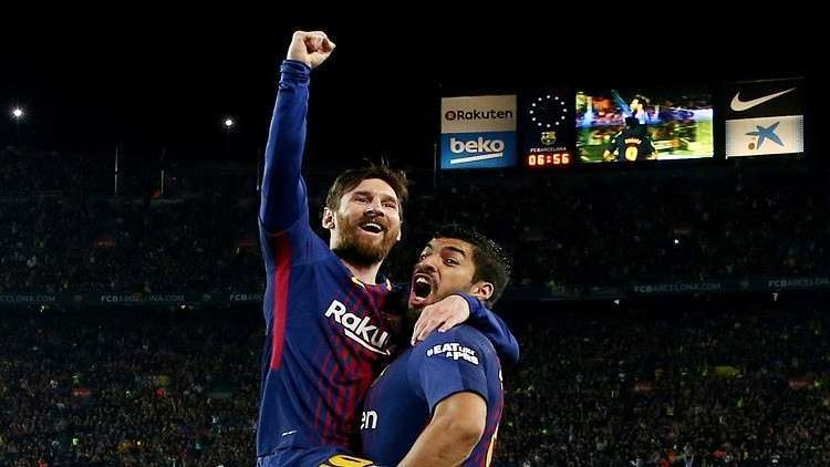 برشلونة أول ناد يضع هذا الشعار على قميصه
