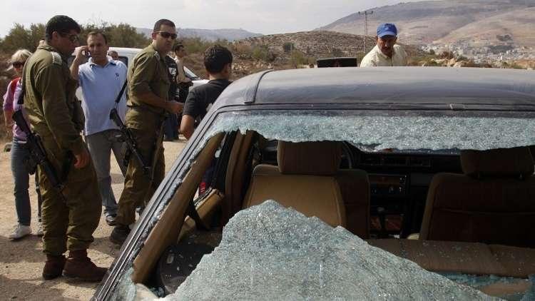 مستوطنون يحطمون 40 سيارة فلسطينية بشمال الضفة الغربية