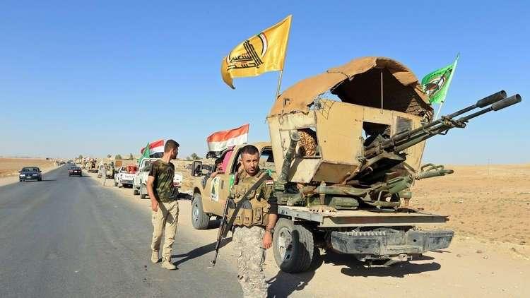 انفجار ضخم داخل مخزن أسلحة تابع للحشد الشعبي العراقي