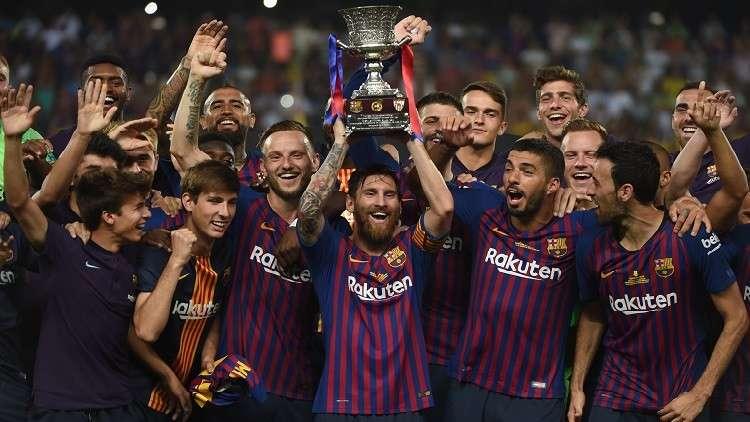برشلونة أمام تحقيق رقم تاريخي في مباراة اليوم
