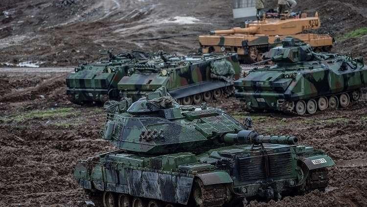 القوات التركية داخل الأراضي السورية - أرشيف