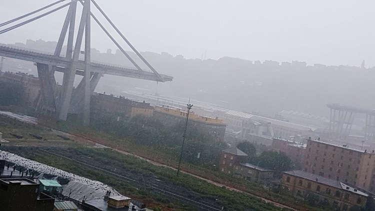 شركة صيانة الجسر المنهار في جنوى تعتذر لذوي الضحايا وتتعهد بإعادة بنائه