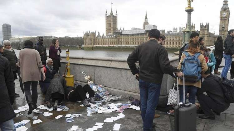 توجيه تهمة الشروع بالقتل لمنفذ الهجوم أمام البرلمان البريطاني