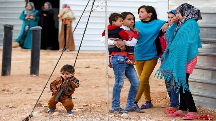 عمان تدرس مقترحات موسكو حول اللاجئين السوريين
