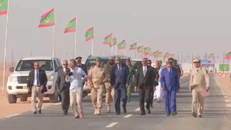 فتح معبر بري بين الجزائر وموريتانيا