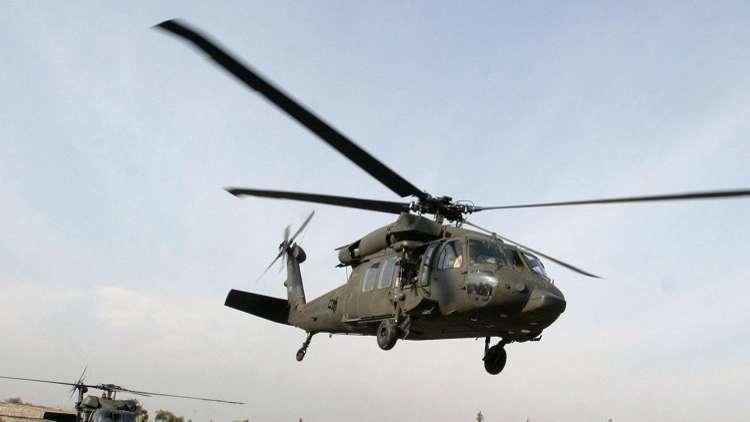 مقتل جندي أمريكي بتحطم طائرة مروحية في العراق
