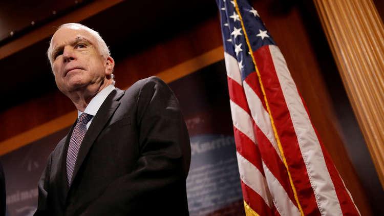 وفاة السيناتور الأمريكي المخضرم جون ماكين