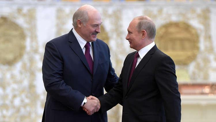 لوكاشينكو: أبحث مع بوتين مواضيع شخصية يخشى المتحدثون باسمنا التطرق لها