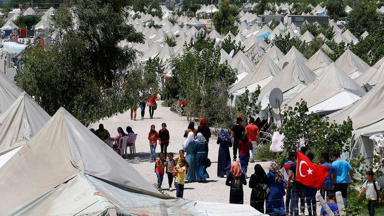 دعم الاتحاد الاوربى للسوريين فى تركيا
