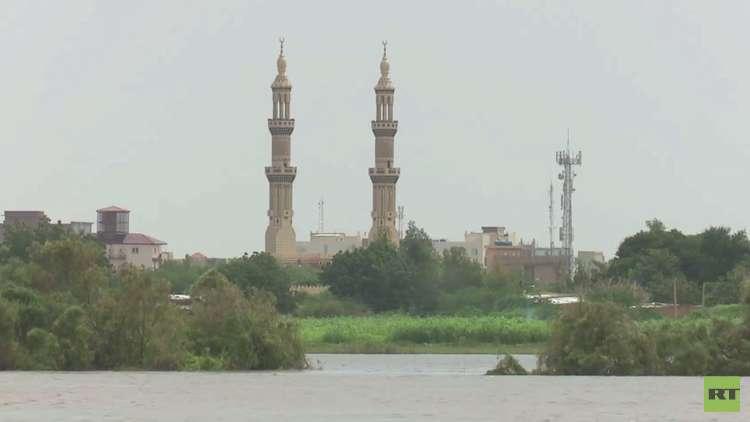 جزيرة توتي السياحية بالعاصمة السودانية