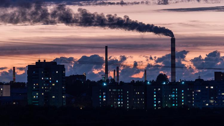 التلوث الهوائي يدمر