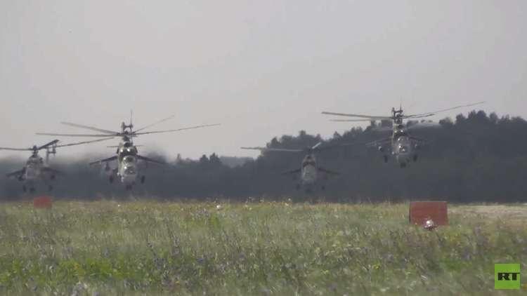 مناورات عسكرية ضخمة لأعضاء شنغهاي