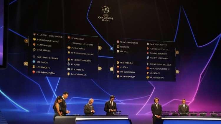 جدول مواعيد مباريات دوري أبطال أوروبا (2018-2019)