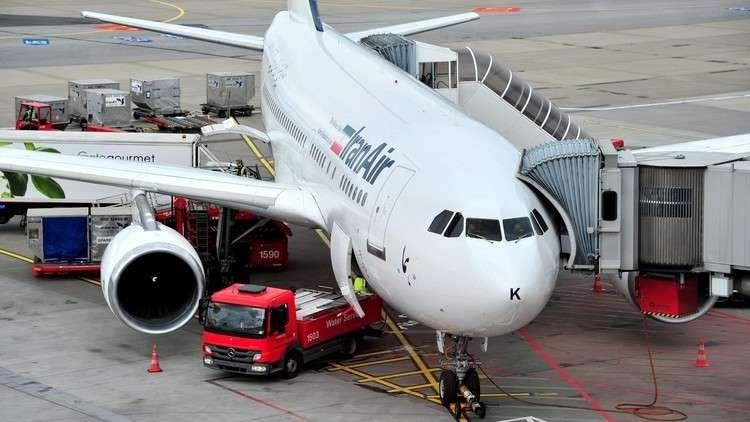 طائرة ركاب تابعة لشركة الخطوط الجوية الإيرانية - أرشيف