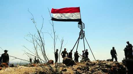 القوات السورية في ريف درعا - 22/07/18