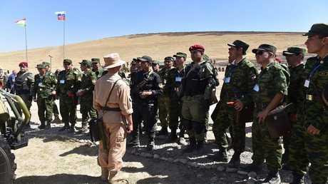 القوات الروسية في طاجيكستان (صورة من الأرشيف)