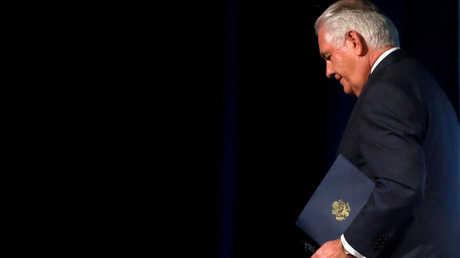 وزير الخارجية الأمريكي السابق، ريكس تيلرسون