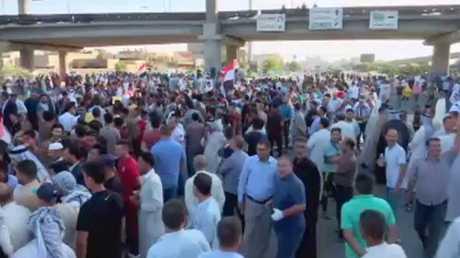 إجراءات أمنية مشددة قبيل مظاهرات العراق