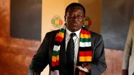 رئيس زيمبابوي إيمرسون منانغاغوا